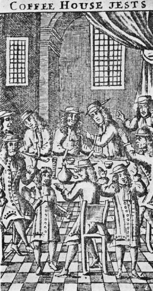 A London Coffee House of the Seventeenth Century