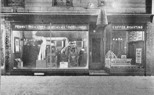 Luhrs, of Poughkeepsie, N.Y., Features Freshly Roasted Coffee in His Window