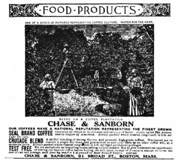 A Chase & Sanborn Advertisement, 1888