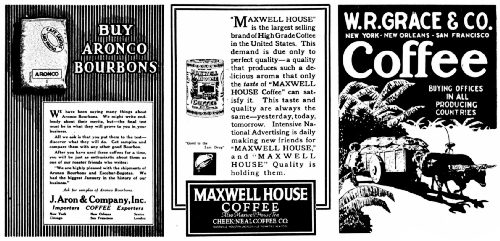 How Coffee is Advertised to the Trade