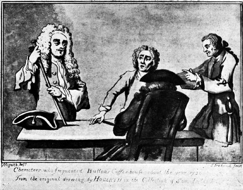 Alexander Pope at Button's Coffee House—1730