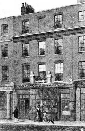 Tom's Coffee House, 17 Great Russell Street