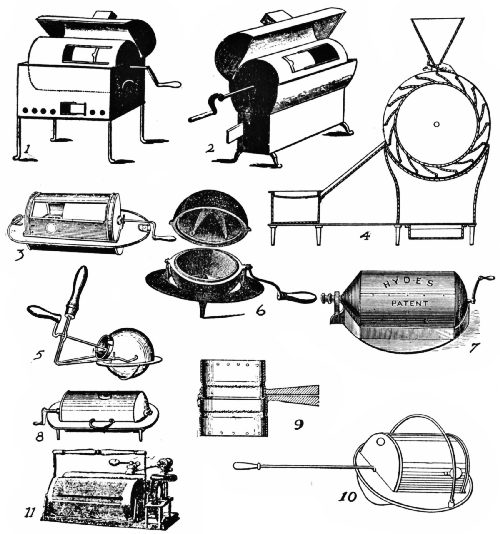 EARLY ENGLISH AND AMERICAN COFFEE ROASTERS