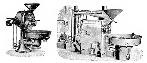 German Gas and Coal Roasting Machines