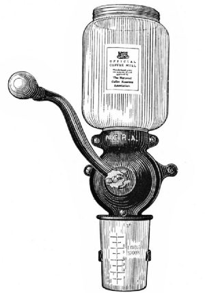 The N.C.R.A. Home Coffee Mill