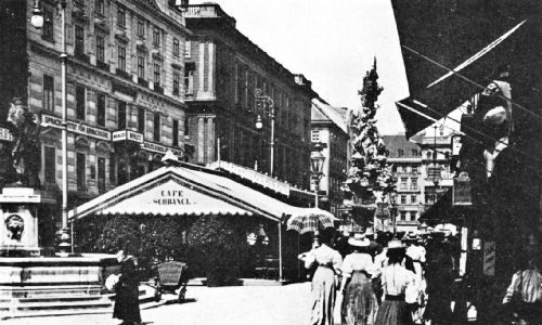 The Café Schrangl in the Graben, Vienna, the City That Coffee Made Famous