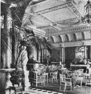 Tea Lounge of Hotel Savoy, London