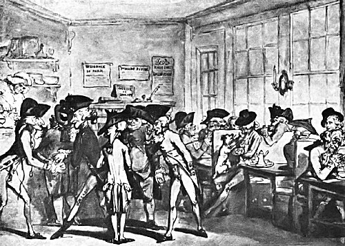 The French Coffee House in London, Second Half of the Eighteenth Century