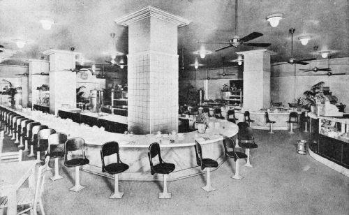Day-and-Night Coffee Room, Rice Hotel, Houston, Texas