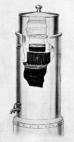 King Percolator, as Applied to a Hotel or Restaurant Urn