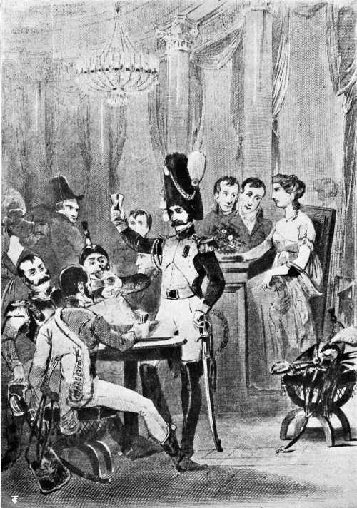 THE CAFÉ DES MILLE COLONNES IN 1811