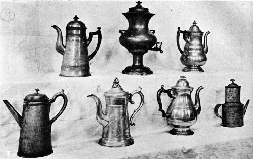 Coffee Making and Serving Devices Used in the Massachusetts Colony