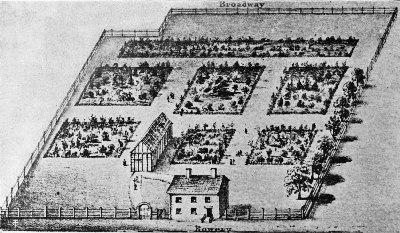 New York's Vauxhall Garden of 1803