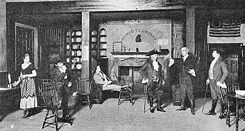 """Exchange Coffee House Scene in """"Hamilton"""""""
