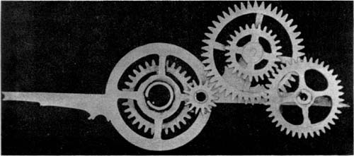 Gear Train Of Pointer in figure 17.