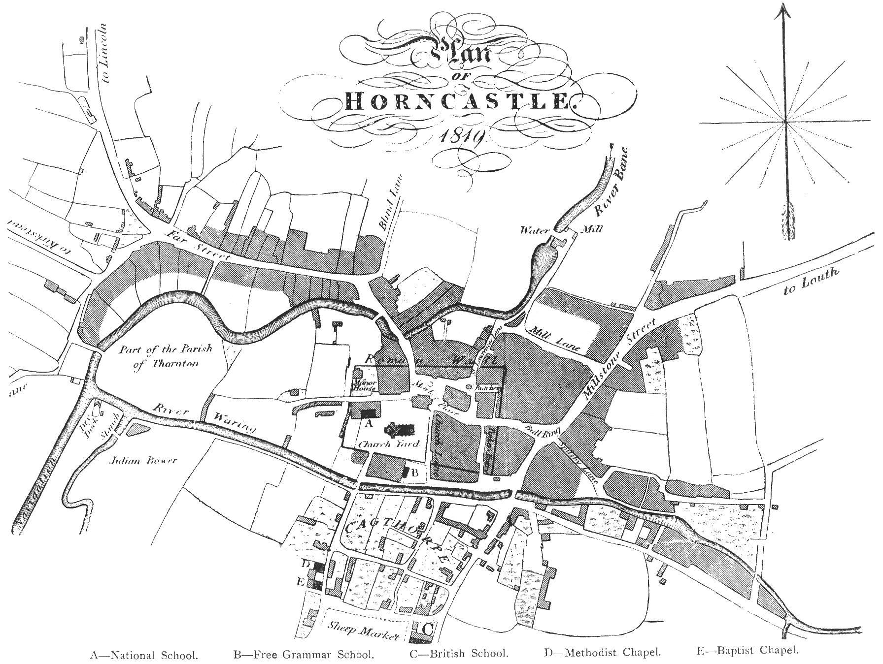 15 horncastle map