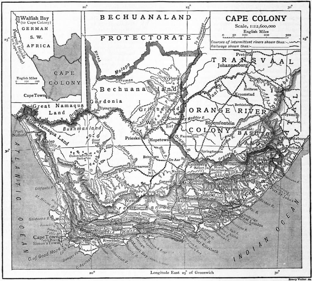 The project gutenberg ebook of encyclopædia britannica volume v slice ii camorra to cape colony
