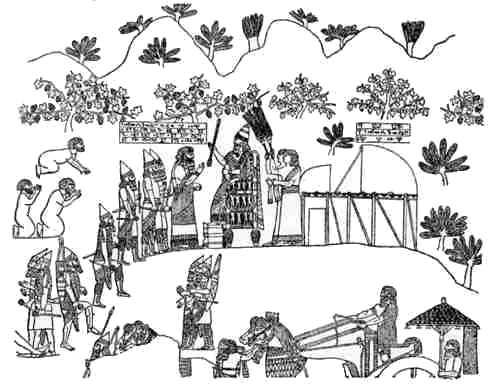 Sennacherib at Lachish.