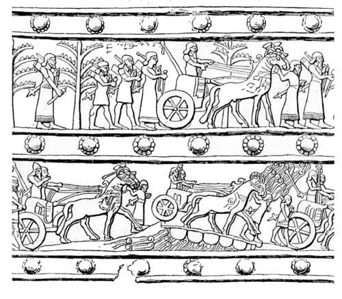 Bronze gate-band