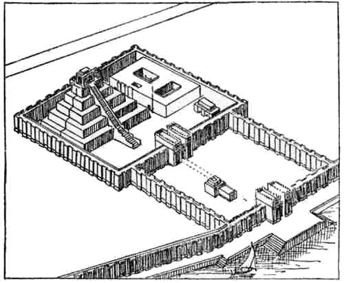 Restoration of the Temple at Nippur.