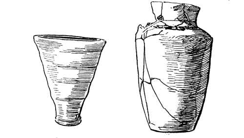 Pre-Sargonic cup-Earliest vase from Nippur.