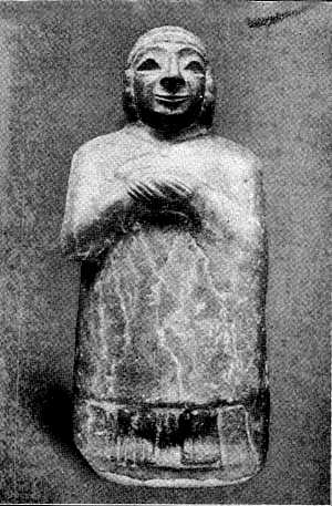 Limestone Figure