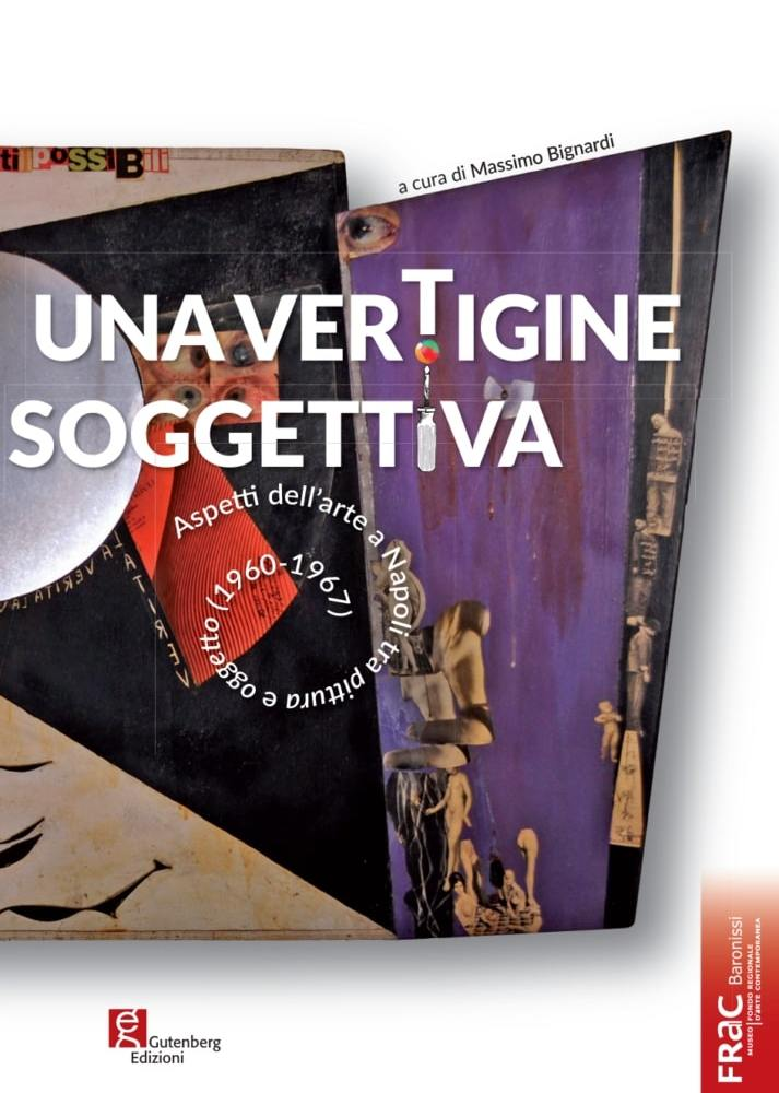 catalogo d'arte Vertigine Soggettiva curato dal critico Massimo Bignardi