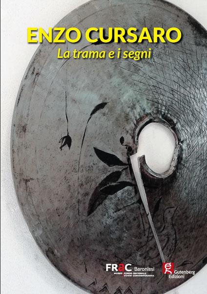 copertina del catalogo d'arte di enzo cursaro