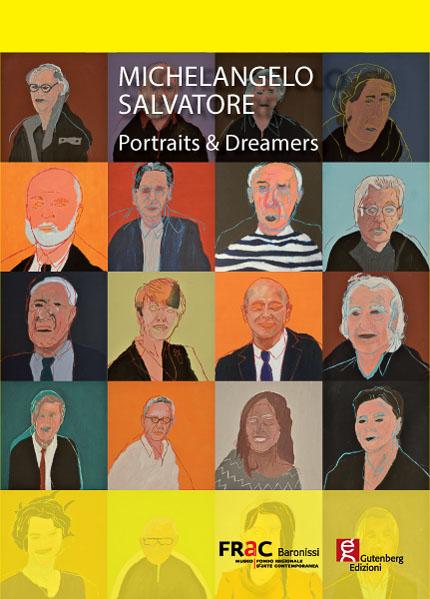 copertina del catalogo d'arte dedicato a Michelangelo Salvatore