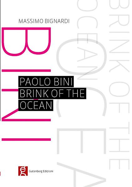 copertina del mini catalogo di paolo bini per gutenberg edizioni