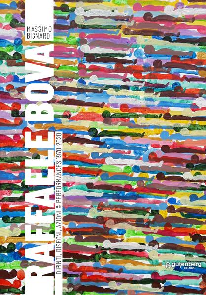 copertina catalogo gutenberg edizioni dell'artista napoletano Raffaele Bova