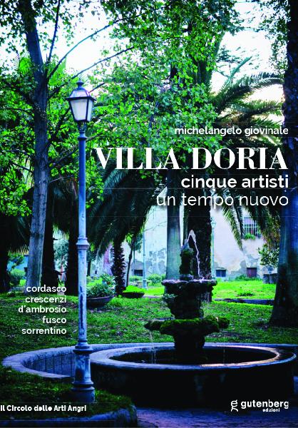 copertina catalogo arte villa doria gutenberg edizioni