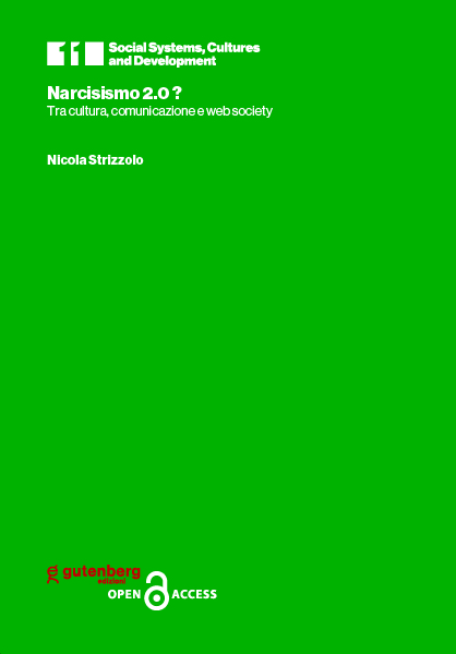 copertina volume in open access del professore Nicola Strizzolo - Narcisismo 2.0?