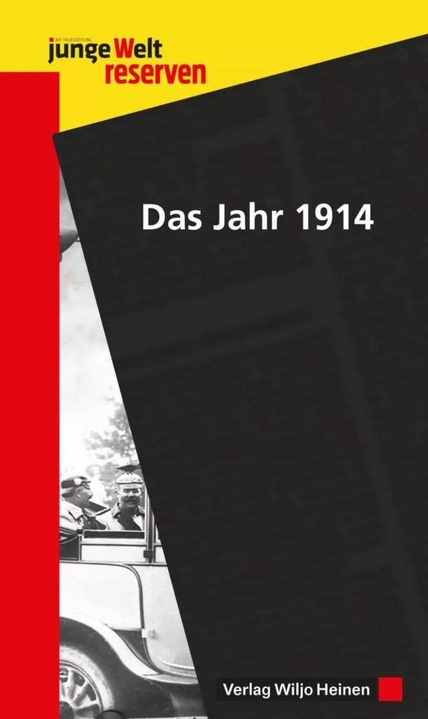Cover: »Das Jahr 1914«