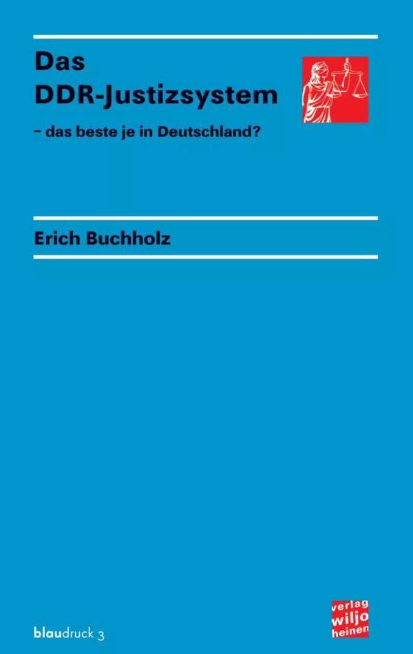 Cover: »Das DDR-Justizsystem«