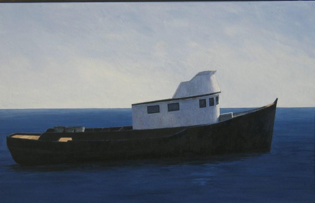CHALUTIER, 2007, 63x100
