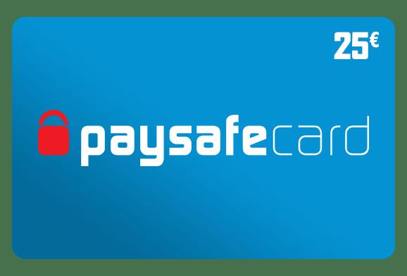 Paysafecard Guthaben 25 Euro Kaufen Online Schnell Und Zuverlassig