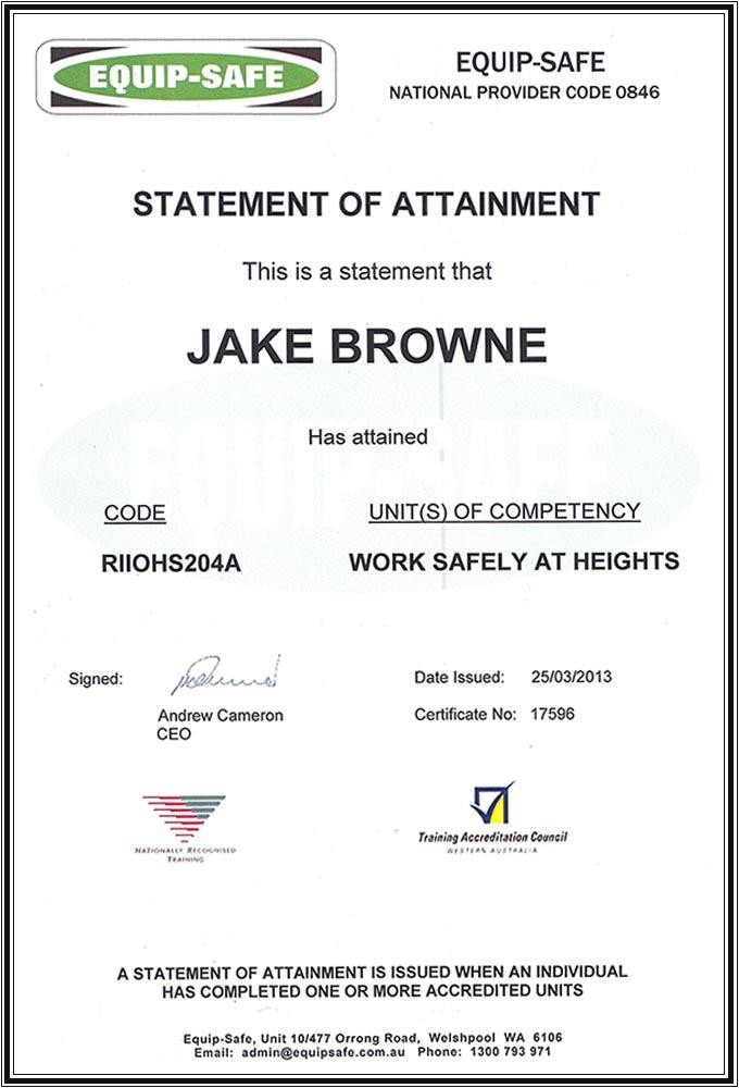 Jake Browne
