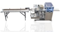 GM 100FSU - FILM FROM BOTTOM BOX MOTION HFFS FLOWPACK PACKAGING MACHINE