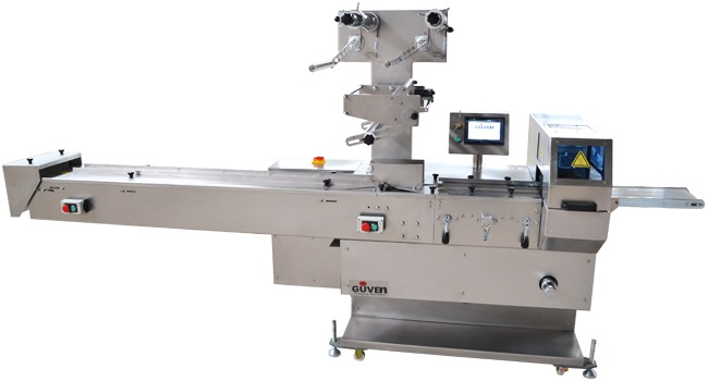 3Axis Rotary Motion HFFS Flowpack Packaging Machine