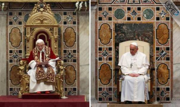 Popes in contrast
