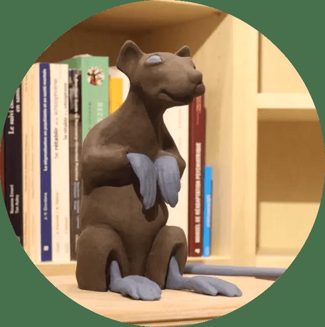 Le Rat Conteur symbolise l'Auto-compassion