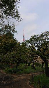 Tokyo Tower from Shiba Koen