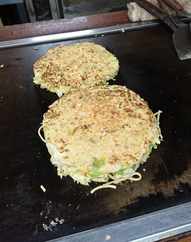 Okonomiyaki for dinner