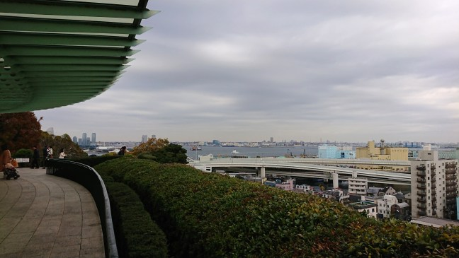 View of Yokohama from Minatonomieruoka Park