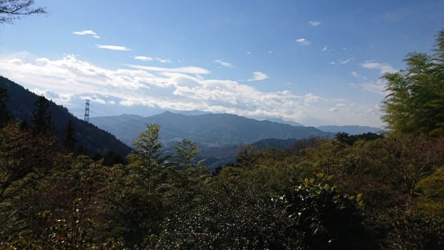 View from Otarumi Touge, towards Kanagawa