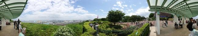 View from Minato-no-Mieru Oka Koen