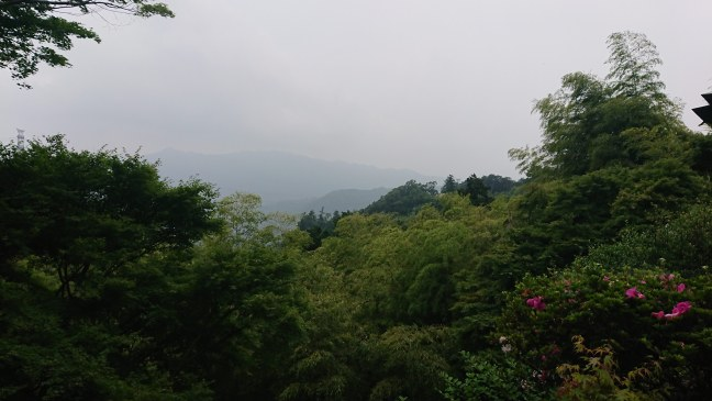Somewhat cloudy view from Otarumi Touge