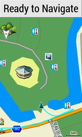 GPS image of Budokan