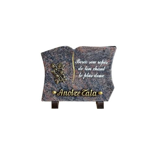Plaques funéraires granit